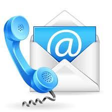 contactez nous par mail ou par téléphone