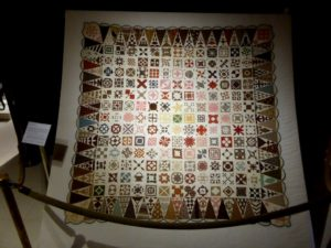 Sampler Quilt de Jane Stickle terminé en 1863
