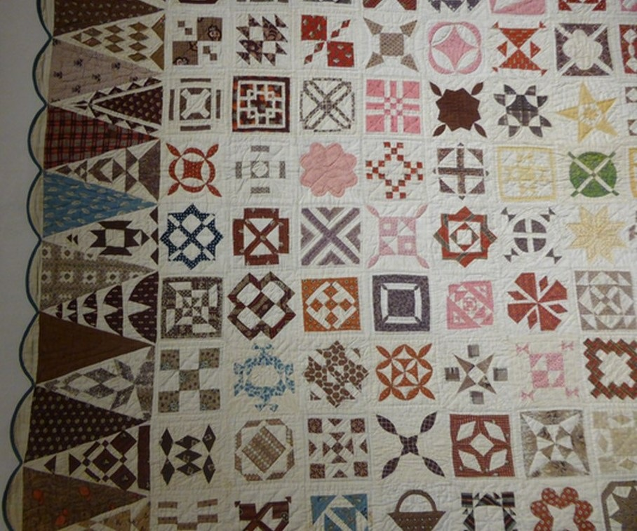 01 - Sampler Quilt de Jane Stickle extrait