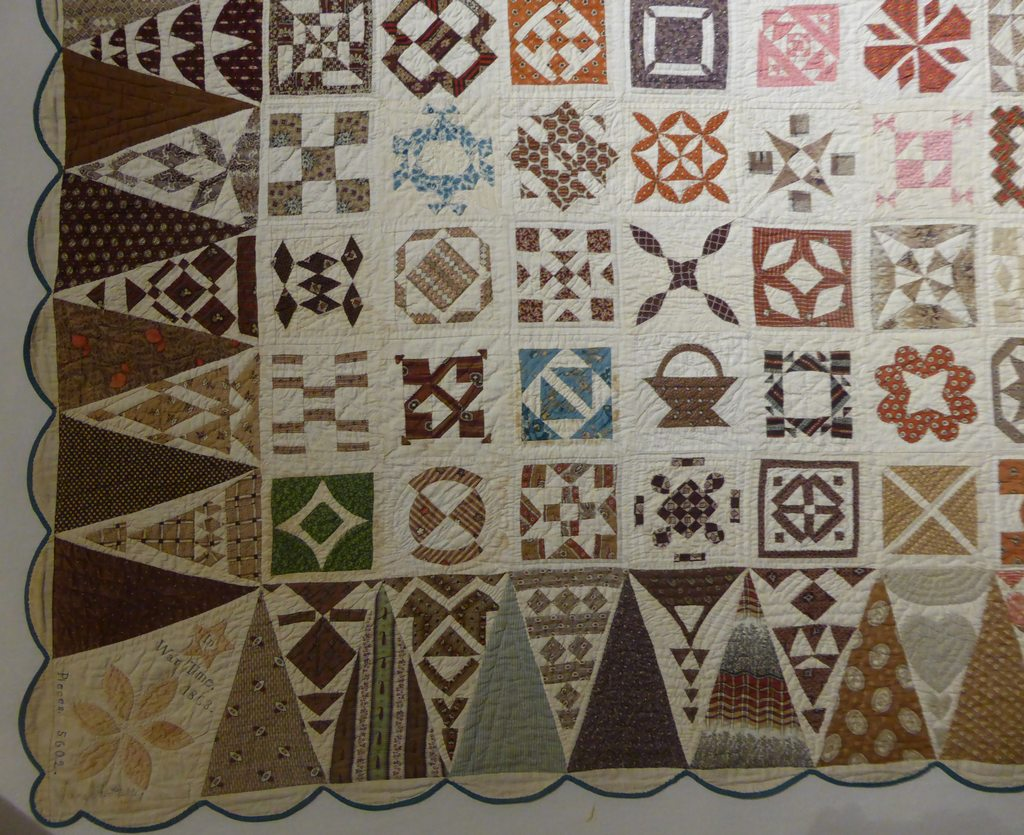 02 - Sampler Quilt de Jane Stickle extrait