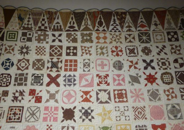 03 - Sampler Quilt de Jane Stickle extrait