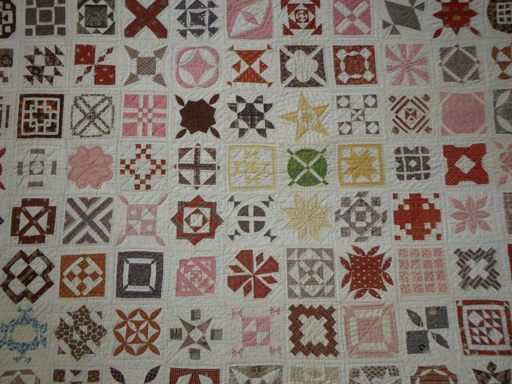 04 - Sampler Quilt de Jane Stickle extrait