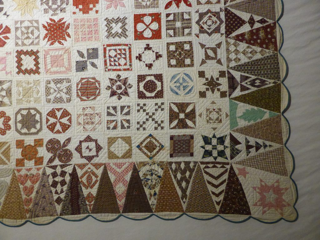 06 - Sampler Quilt de Jane Stickle extrait