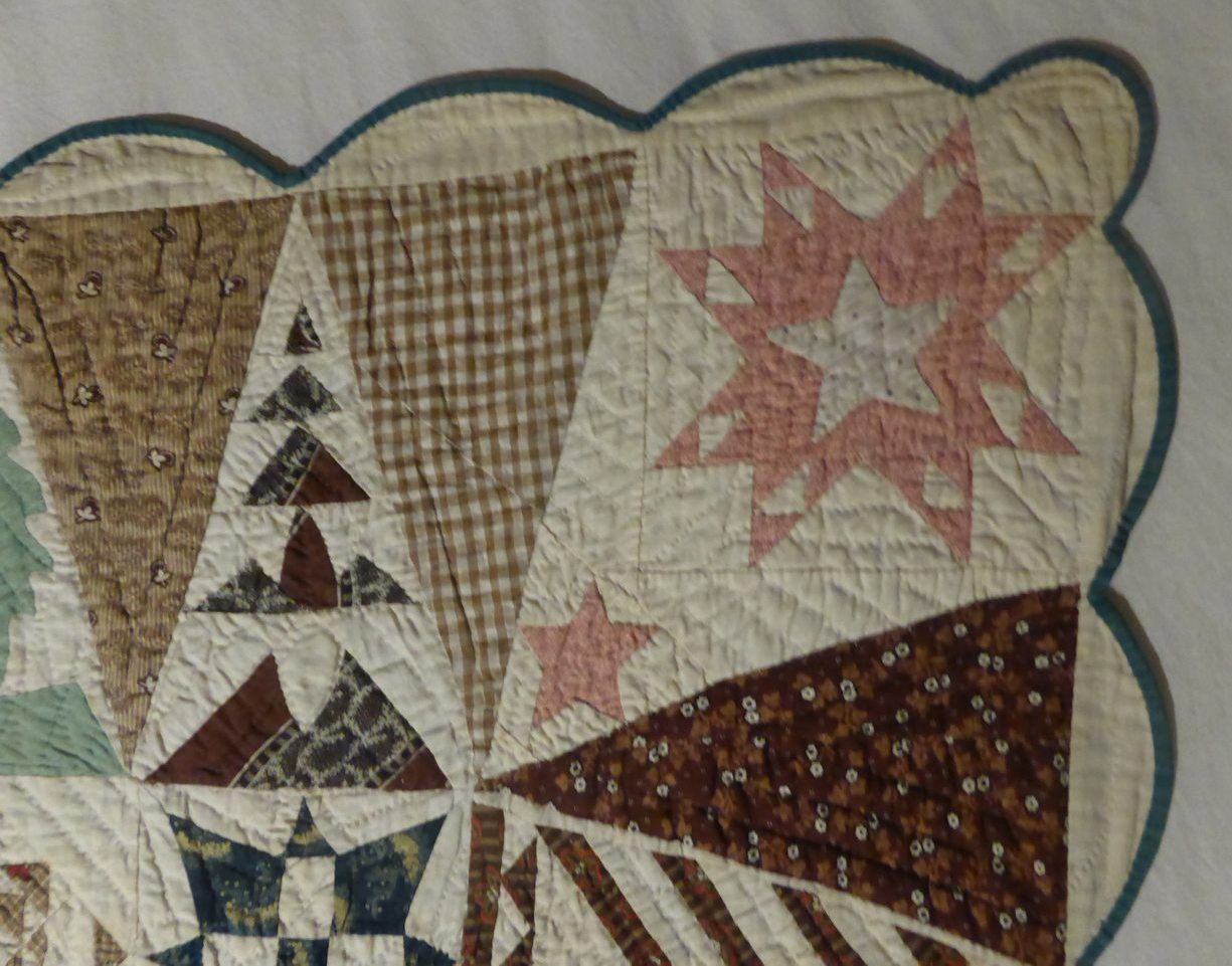 09 - Sampler Quilt de Jane Stickle extrait